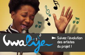 Suivez l'évolution des artistes du projet Vwalye !